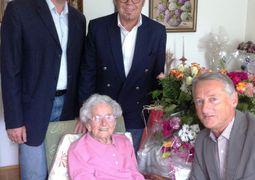 100.  Geburtstagsjubiläum - Frau Maria Söllinger